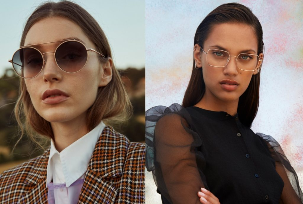 contact lenses vs glasses in fashion